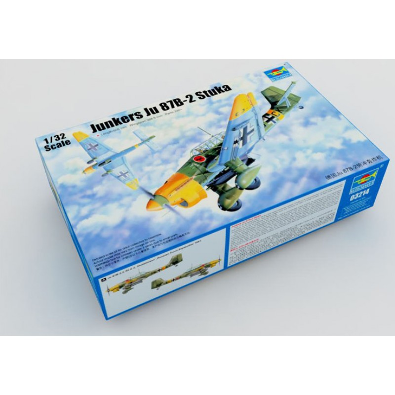 Junkers Ju-87B-2 Stuka 1:32 Trumpeter 03214