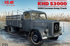KHD S3000 WWII German Army Truck 1:35