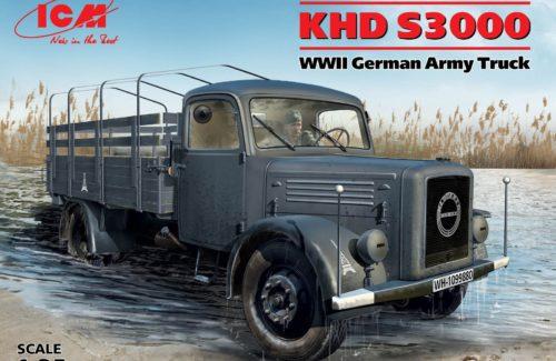 KHD S3000 WWII German Army Truck 1:35