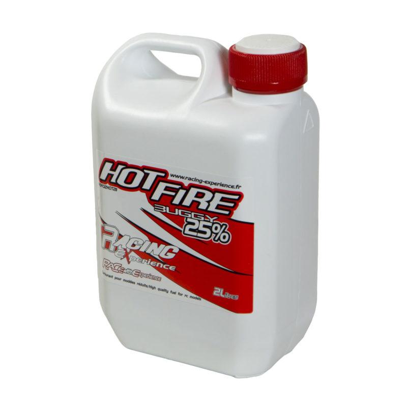 Καύσιμο - Βενζίνη για Τηλεκατευθυνόμενα Αυτοκίνητα - Hot Fire Buggy 25% Nitro 2 Λίτρα