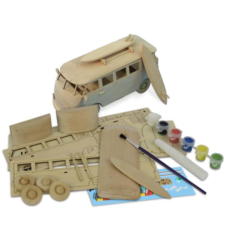 Ξύλινη Κατασκευή για Παιδιά 8 Ετών Βανάκι