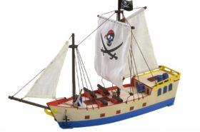 Ξύλινη Κατασκευή για Παιδιά Πειρατικό Πλοίο