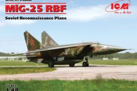MiG-25 RBF Soviet Reconnaissance Plane 1:48 ICM48904