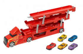 Playset Νταλίκα μαζί με 5 Αυτοκίνητα AS Company Teamsterz 7535-16669