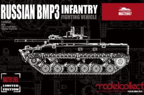 Russian BMP3 Infantry Fighting Vehicle 1:72 Modelcollect