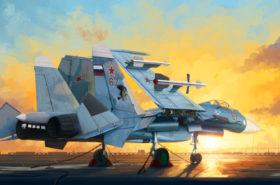 Russian Su-33 Flanker D 1:72 TRU01678