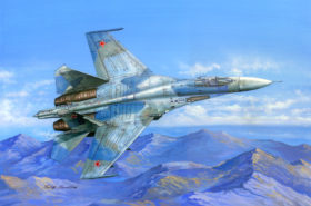 SU-27 FLANKER B HOBBYBOSS 1:48
