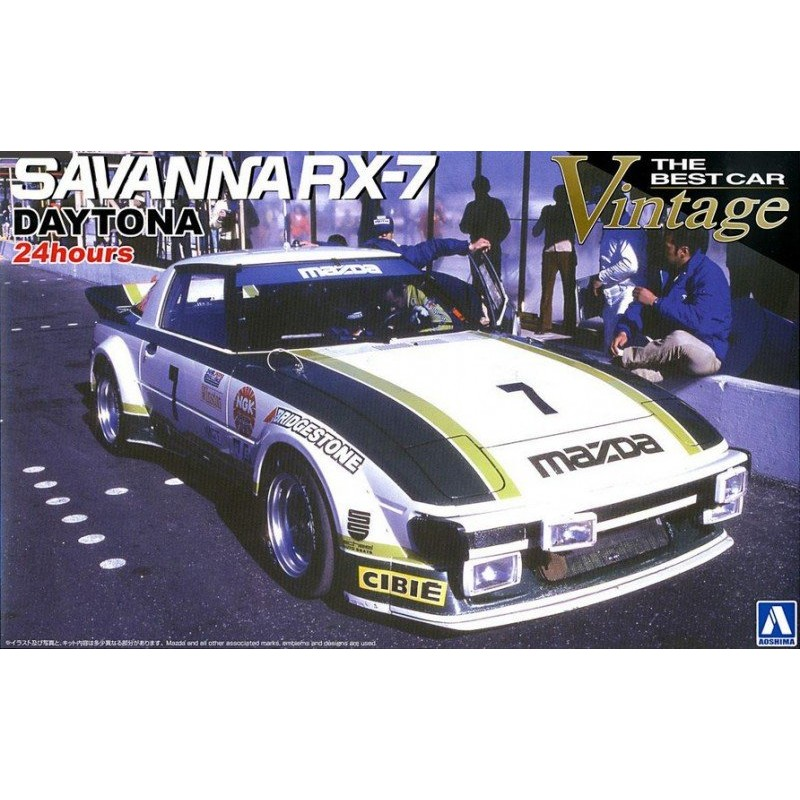 Savanna RX-7 Daytona 24 Hours 1979 1:24