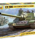 Soviet Tank Destroyer SU-100 1:35 ZVE3688