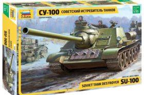 Soviet Tank Destroyer SU-100 1:35 ZVE3688