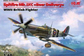 "Spitfire Mk.IXC ""Beer Delivery"" WWII British Fighter 1:48 ICM48060"