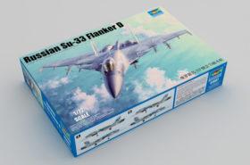 Συναρμολογούμενο Αεροσκάφος Russian Su-33 Flanker D 1:72 Trumpeter