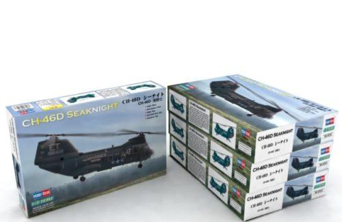 Συναρμολογούμενο Ελικόπτερο CH-46D Seaknight 1:72 87213