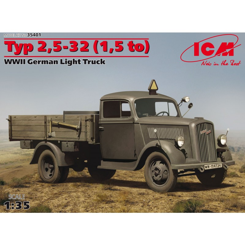 Typ 2,5-32 (1,5 to) WWII German Light Truck 1:35