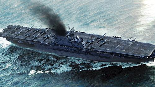 USS Enterprise CV-6 1:700 TRUMPETER 06708