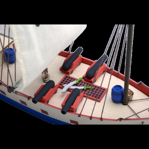 πειρατικο πλοι ξυλινη κατασκευη