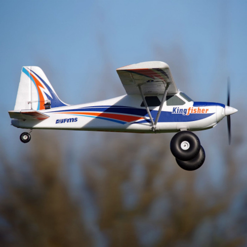 FMS Kingfisher Trainer 1400mm PNP w Wheels
