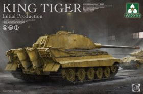 WWII German Heavy Tank King Tiger Initial Production 4 in 1 1:35 TAKOM