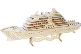 Ξύλινη Κατασκευή 3D Puzzle Κρουαζιερόπλοιο