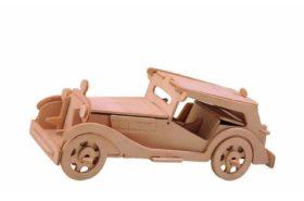 Ξύλινη Κατασκευή 3D Puzzle Αυτοκίνητο Αντίκα