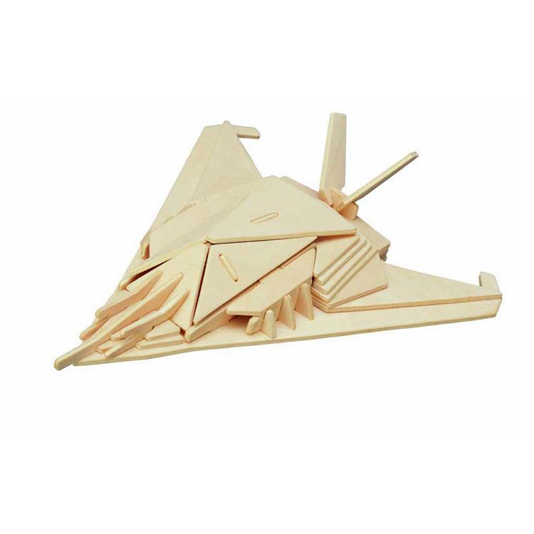 Ξύλινη Κατασκευή Αεροπλάνο Stealth