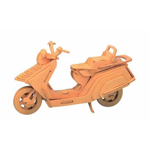 Ξύλινη Κατασκευή Μοτοσυκλέτα Vespa