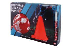 Λαμπάδα Πασχαλινή 2019 Παικταράς Κόκκινη Μπάλα