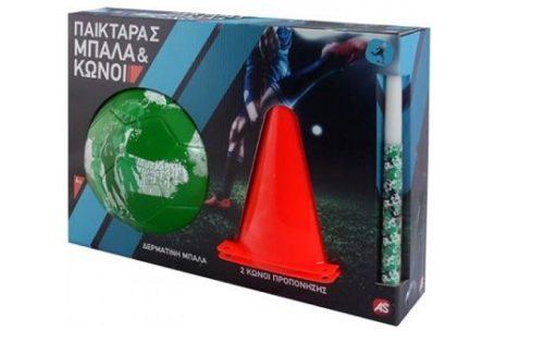 λαμπάδα παικταράς πράσινη μπάλα 2019