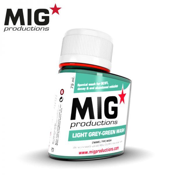 P279 LIGHT GREY GREEN WASH MIG PRODUCTIONS