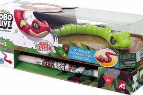 Πασχαλινή Λαμπάδα Robo Alive Ηλεκτρονικό Φίδι (1500-15678)