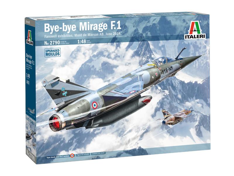 Bye Bye Mirage F.1 1:48
