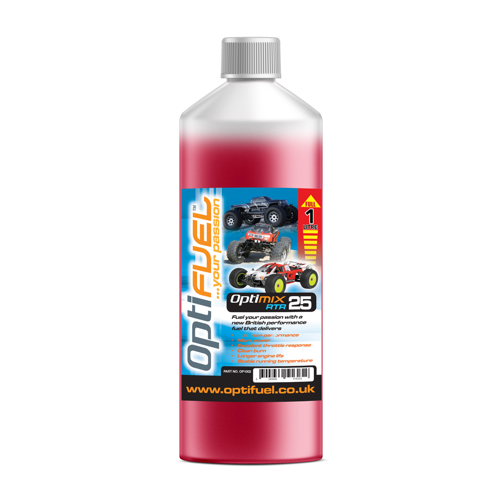 Optifuel - Optimix RTR 25% Nitro Car Fuel 1L