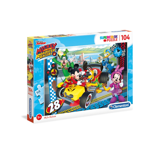 Disney Mickey and The Roadster Racers Clementoni Supercolor Puzzle