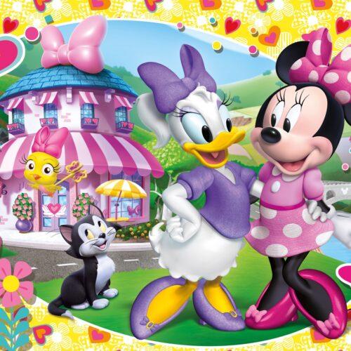 Disney Minnie - 104 pcs - Clementoni Supercolor Puzzle