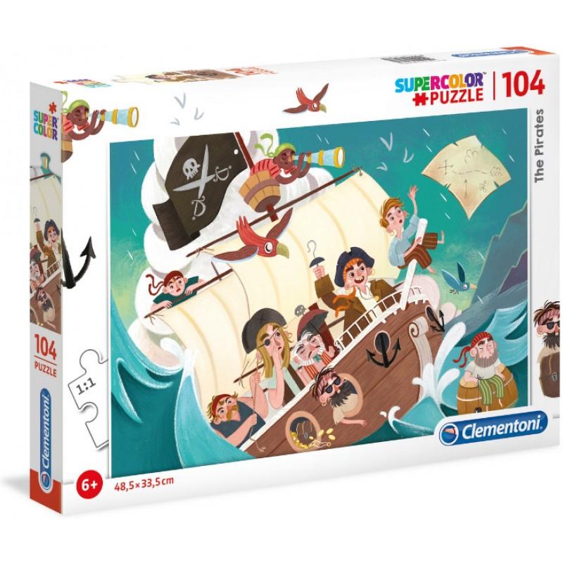 Οι Πειρατές - 104 pcs - Supercolor Puzzle