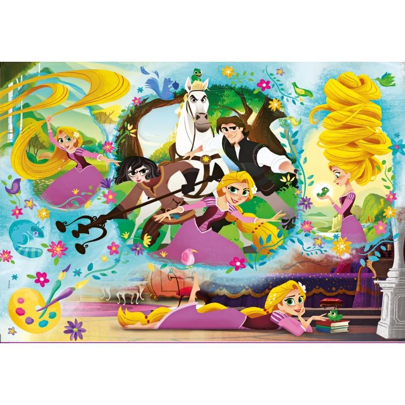 Πριγκίπισσα Ραπουνζέλ Supercolor Puzzle Clementoni