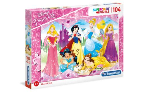 Πριγκίπισσες της Disney - 104 pcs - Clementoni Supercolor Puzzle