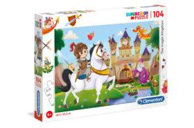 Το Μαγικό Βασίλειο - 104 pcs - Supercolor Puzzle