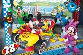 Disney Mickey and The Roadster Racers - Supercolor Puzzle
