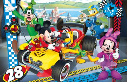 Disney Mickey and The Roadster Racers – Supercolor Puzzle