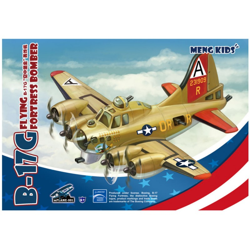 B-17G Flying Fortress Bomber Snap-Fit (1)