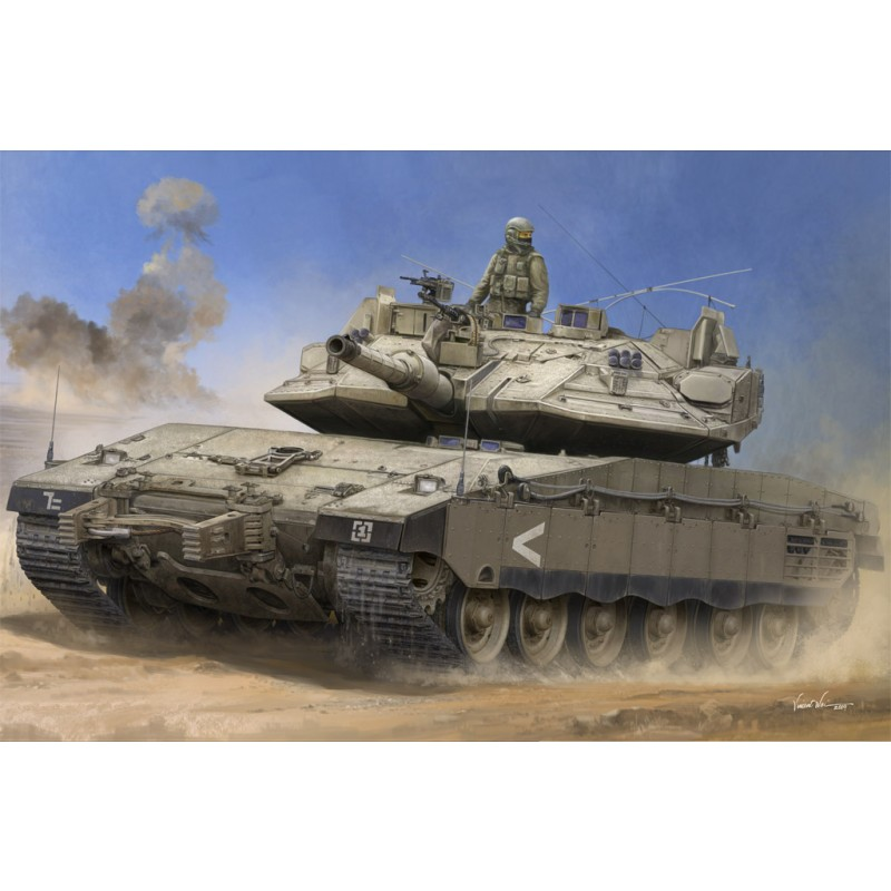 IDF Merkava Mk IV w Trophy 135