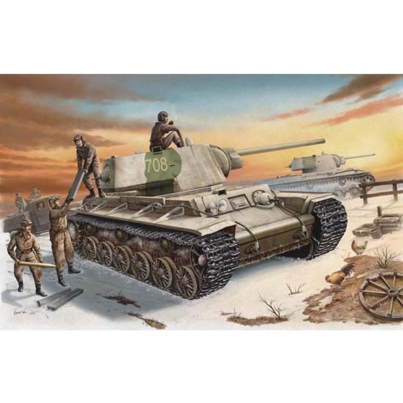 Russian KV-1 Model 1942 Heavy Cast Turret Tank 1:35