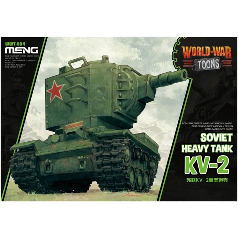 Soviet Heavy Tank KV-2 (Cartoon Model) - Meng Models (1)