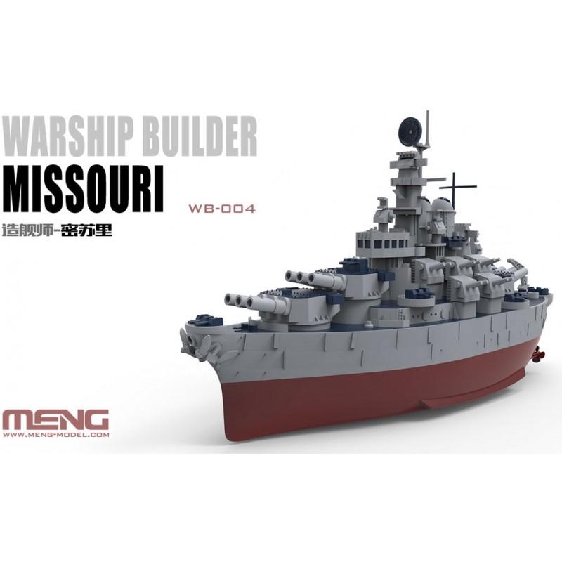 Warship builder Missouri (Cartoon Model)