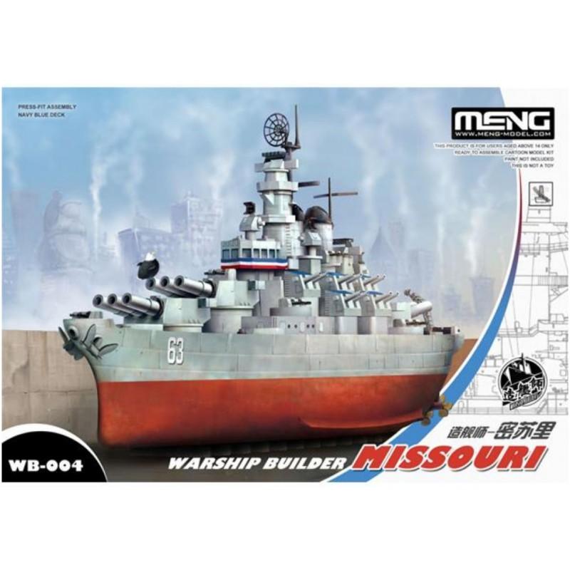 Warship builder Missouri Meng Models (1)
