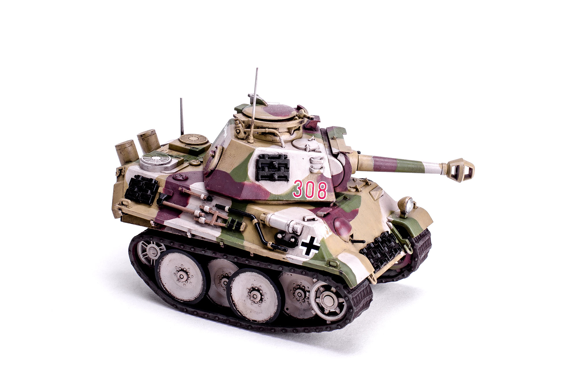 World War Toons PzKpfw V Panther MENG MODELS