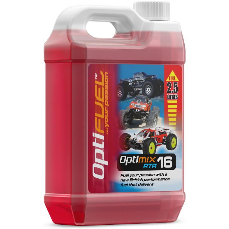 Optifuel – Optimix RTR 16% Nitro Car Fuel 2.5L