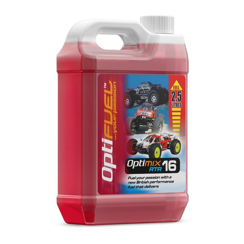 Optifuel - Optimix RTR 16% Nitro Car Fuel 2.5L