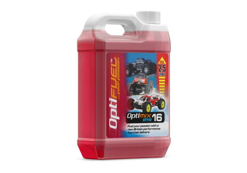 Optifuel - Optimix RTR 16 Nitro Car Fuel 2.5L